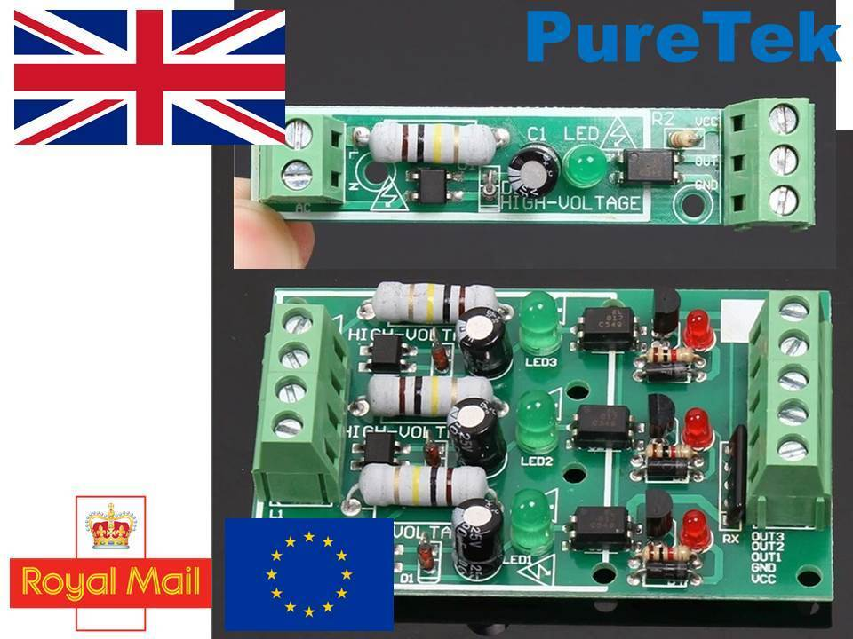 240V 220V AC Mains Sensor opto-isolator optoisolator optocoupler 5V 3 3V  Arduino | Shopping Bin - Search eBay faster
