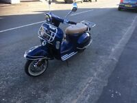 retro style scooter