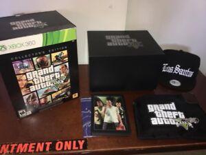 Grand theft auto 5 collectors edition Xbox 360