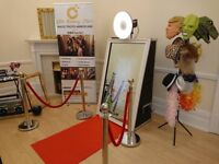 Magic Mirror Photo Booth Hire in Maidenhead, Reading, Windsor, Slough, London, Berkshire