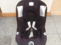 Britax First Class Plus group 0+1 car seat for newborn upto 18kg-rear facing to 9kg&forward for 9kg+