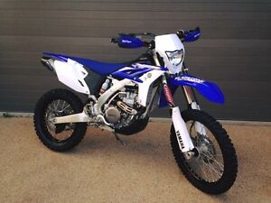 2015 Yamaha WR450F Gladstone Gladstone City Preview
