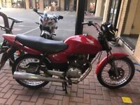 Non running CG125 with a bent fork..