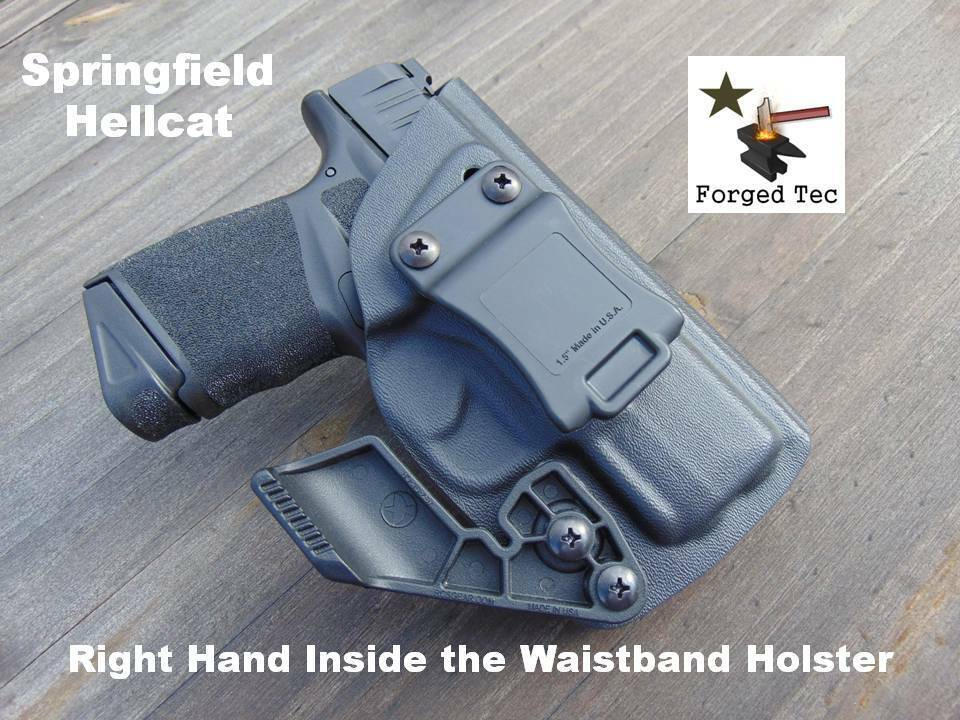 Springfield Hellcat Right Hand Kydex Inside the Waistband Holster