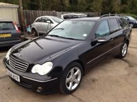 ** NEWTON CARS ** 04 54 MERCEDES C220 CDI AVANTGARDE SE AUTO, GOOD OVERALL, MOT JUN 2018, P/EX POSS