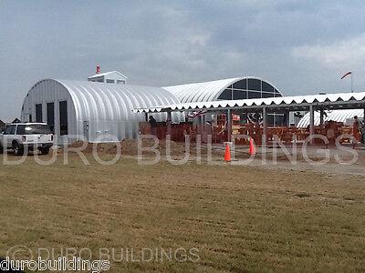 Durospan Steel 40x90x16 Metal Building Kit Pole Barn Open Ends Factory Direct