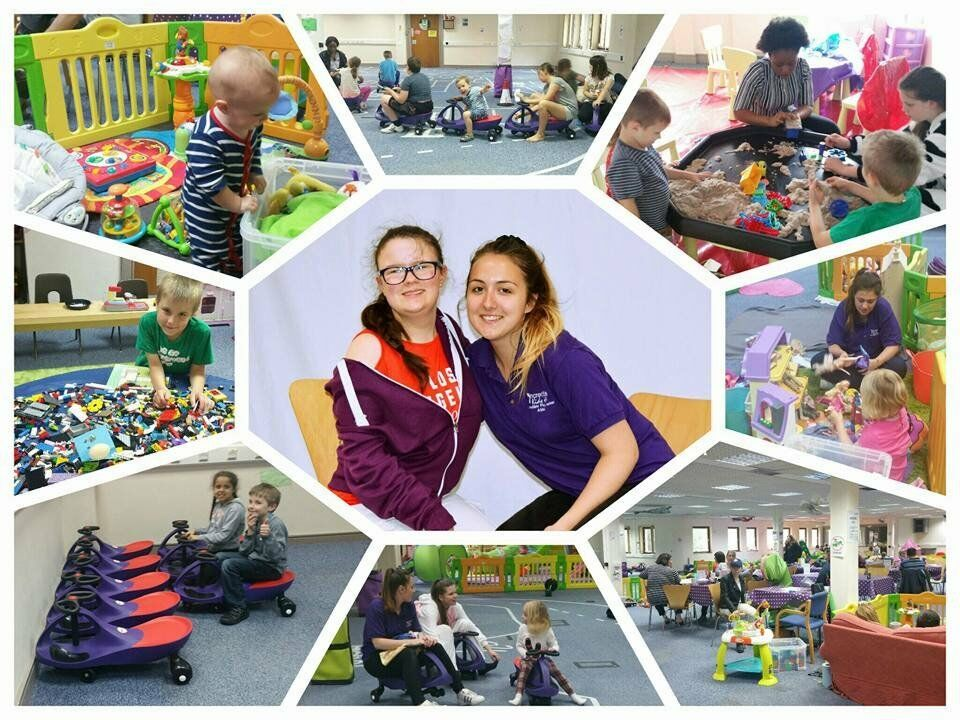 Playworker volunteer to engage children with additonal needs and their siblings in play