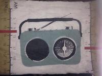 Shortwave Retro Radio Double Duvet Set