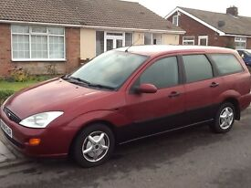 FORD FOCUS ESTATE TURBO DIESEL. 11 MONTHS M.O.T