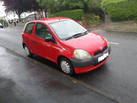 BREAKING TOYOTA YARIS 1.0 3 DOOR RED PARTS