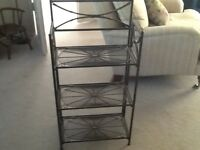 Small wire standing rack