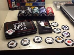 NHL Offical weight poker chips