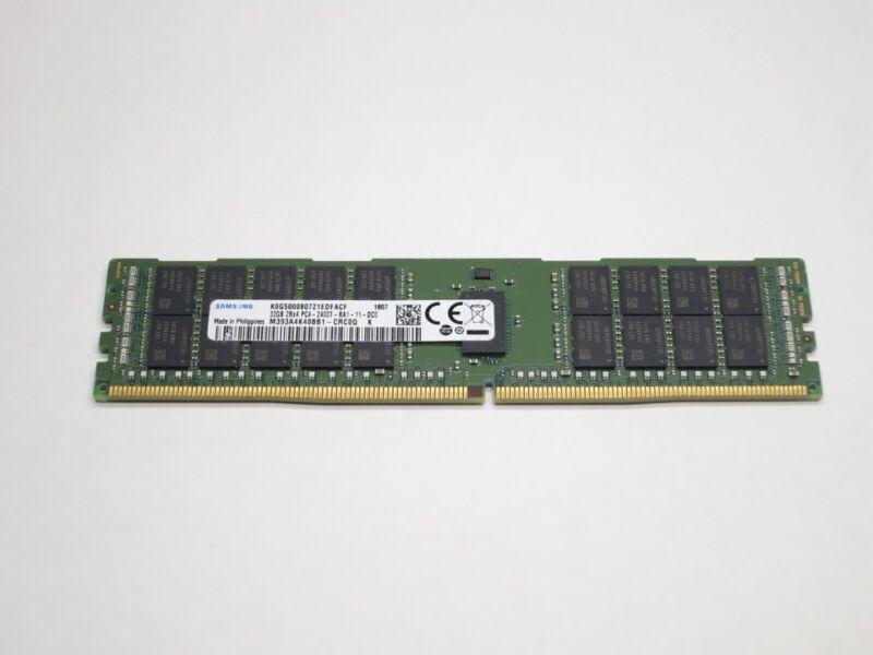 M393A4K40BB1-CRC SAMSUNG 32GB DDR4 2400 ECC REG 2Rx4 PC4-19200 SERVER MODULE REF