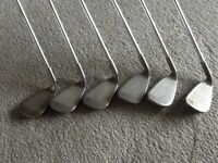 PING G25 GOLF IRONS 6 - SW reg steel CFS shafts. White dot. Overall Very Good Condition