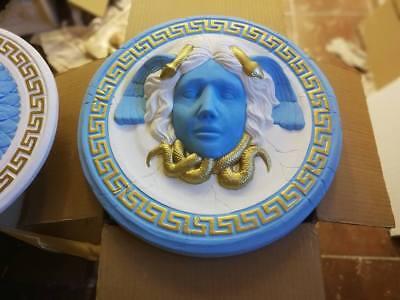 1 X Relief Rosette Medusa Versace griechische Wandrelief Stuck gips molding Lux
