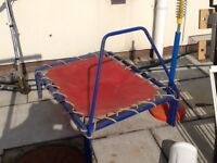 Children's Trampoline.