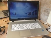 HP i5, 8Gb SSD 17 laptop as good as new