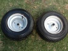 Ride on mower rims & tyres 15x5.50-6 Durack Brisbane South West Preview