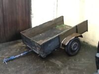 TRAILER 6ft by 3.5ft needs tidied good project for somebody £95