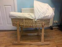 Basket bedding ''Clair de lune''