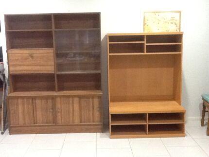 Wall Unit - Display Cabinet | Cabinets | Gumtree Australia ...