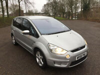 FORD S MAX TITANIUM 1.8 TDCI G6 MANUAL 7 SEATER LOW MILES 51K ONLY!