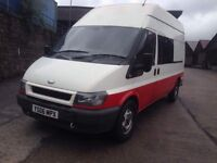 2006 Ford Transit t350 Crew cab van 6 seats possible camper convert Px welcome