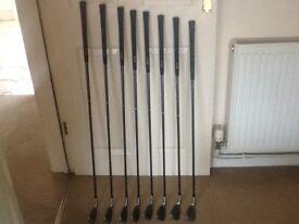 Spalding Graphite Golf Clubs