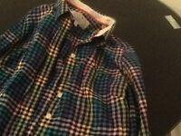 Jack Willis checked shirt & timberland shirt