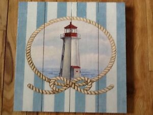 NEW Wooden Sign - Lighthouse