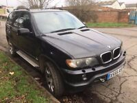 2003 BMW X5 3.0d Sport Auto Black 4x4, spares or repairs, faulty gearbox