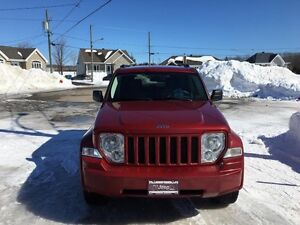 JEEP LIBERTY SPORT 2008 MANUEL 6VITESSES