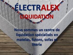 LIQUIDATION DE MATELAS NEUFS 438-503-7632