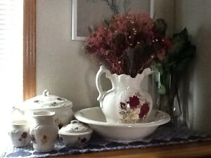 Vintage Jug and Basin Set