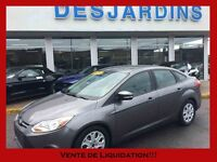 2013 FORD FOCUS ***INSPECTÉ PAR FORD 132 POINTS ***