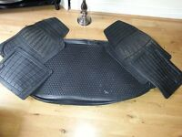 Kia Soul Rubber Car / boot Mats for 2011 Model £30