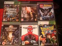 2 Xbox Games 4 PS3 Games