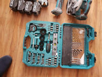 seling my makita pover tools set.