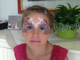 FACE PAINTING FOR PARTY`S AND EVENTS , BY EXPERIENCED FACEPAINTER