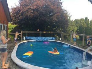 16x26 above ground pool for sale