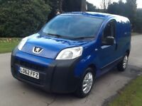 Peugeot BIPPER 1.2 swb van nice drive p/x welcome, not Ford connect , VW CADDY