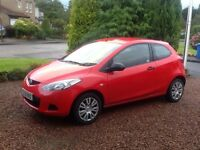 Mazda 2 mot serviced today, front discs pads,new front tyres and fan belt