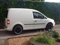 VW CADDY VAN 2L 2008 12 MONTHS MOT GOOD CONDITION ALLOYS WITH NEW TYRES