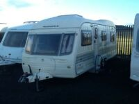 2003 AVONDALE landranger 6400 twin axel 5 berth double fitted mover & blow up awning