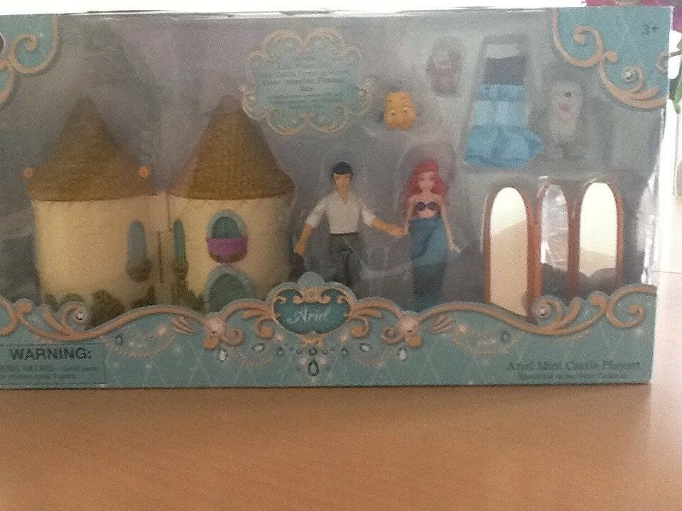 Little Mermaid Mini Castle Playset