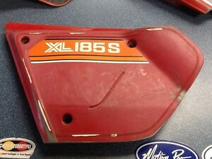 HONDA XL185S LH Side Panel 1980