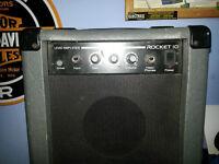 Rocket 10 watt Lead Amplifier Practice Amp & Overdrive Electro Acoustic Stagg