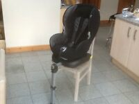 Maxi Cosi PrioriFix with Isofix plus extra support leg at front for 9kg upto 18kg(9mths to 4yrs)
