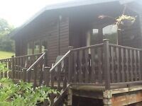 Log Cabin - unexpectedly back for sale - 3 bedrooms - ideal for self-builders