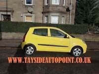 TAYSIDE AUTOPOINT DUNDEE, FREE DELIVERY 2010 KIA PICANTO, 1 YEARS MOT, WARRANTY £1995
